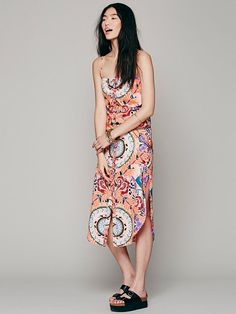 Free People Jungle Trip Easy Dress, $268.00