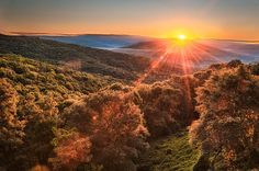 Ozark Sunrise, Boston Mountains, northwest Arkansas