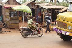 Iheaka Village Lady Motorcyclist - Enugu State Nigeria
