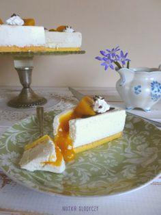 Nutka Słodyczy: Sernik brzoskwiniowy na zimno (a'la Zila cake) How To Make Cake, Cupcake, Sweets, Bread, Cakes, Baking, Tips, Recipes, Food