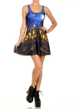 Great Hall Skater Dress - LIMITED - POPRAGEOUS   - 1