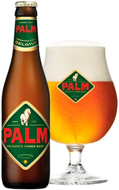 Made with English hops, French Barley, and Belgian yeast, PALM represents the best of European beer-making traditions. It's the roasted Champagne Malt which gives PALM its amber color, but without being heavy. PALM is a great alternative to traditional pilsners and lagers for the beer drinker looking for something a little different.