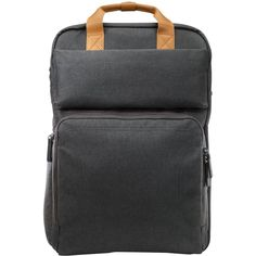 HP - Laptop Backpack - Brown/gray, W7Q03AA#ABC