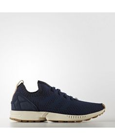 766bdc5ae Adidas Zx Flux Womens Collegiate Navy And Gum Shoes