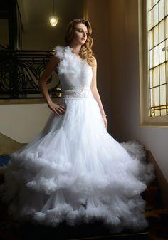 Princess Dress   - Picture by Jean-Christophe Destailleur - Model : Camille Guiot - Location : Hotel Bellevue, Lille FR