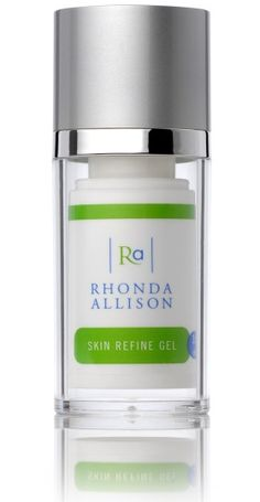 Daily Routine: Rhonda Allison Skin Refine Gel. This stuff is a miracle worker for larger and perpetually clogged pores. I've been using it for a few weeks and have already noticed a significant reduction in pore size and a smoother overall texture of my skin. Salicylic Acid and AHA blend.