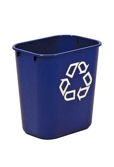 Recycling cube for paper recycling bin cube shaped for paper find this pin and more on poubelles de recyclage large deskside blue recycle trash cans publicscrutiny Gallery