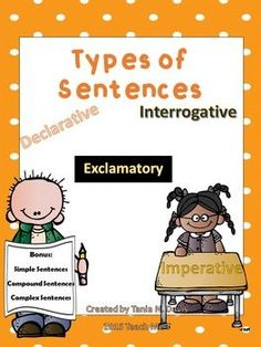 Types of Sentences {Featuring Melonheadz}