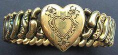 Vintage Sweetheart Bracelet American Queen by BrightgemsTreasures, $49.50
