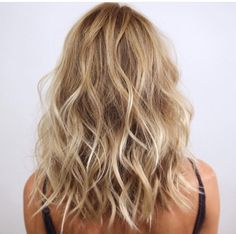 curly shoulder length hair