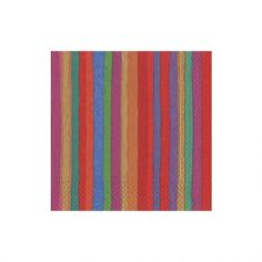 Balthazar Stripe Paper Cocktail Napkins - 20 Per Package