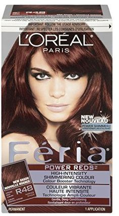 L Oreal Paris Feria Power Reds In R48 Intense Deep Auburn