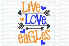 Items similar to Live Love Pandas arrow svg, team spirit svg, Football cut file socuteappliques, scrapbook file, SvG Sayings on Etsy School Spirit Shirts, School Shirts, Teacher Shirts, School Spirit Wear, Embroidery Designs, Embroidery Files, Cheers, Arrow Svg, Shops