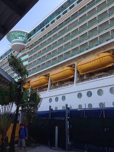 The ship is so big!!!