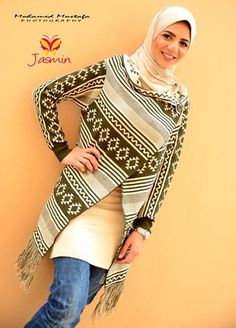 Christmas clothing trends, Christmas hijab casual wear http://www.justtrendygirls.com/christmas-hijab-casual-wear/