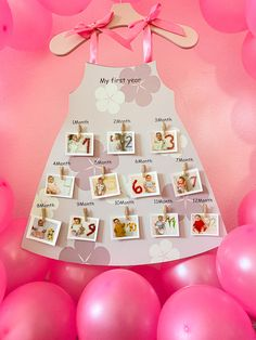 My First Year, Advent Calendar, Holiday Decor, Baby, Home Decor, Decoration Home, Room Decor, Advent Calenders, Baby Humor