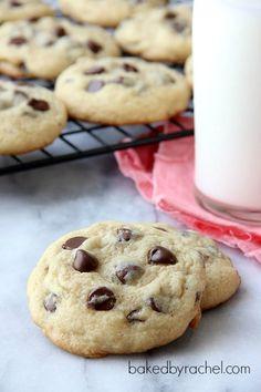 Soft Batch Chocolate Chip Cookie Recipe from bakedbyrachel.com