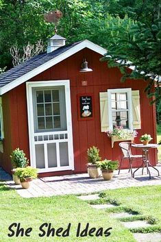 47 Incredible Backyard Storage Shed Design and Decor Ideas - 47 Incredible Backyard Storage Shed Design and Decor Ideas - Backyard Storage Sheds, Backyard Sheds, Backyard Retreat, Shed Storage, Storage Ideas, Storage Design, Small Storage, Shed Office, Backyard Office