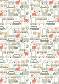 Repeat print for Mudpie trend book #pattern #illustrazione #vintage