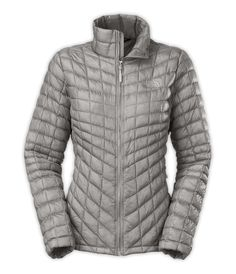 The North Face Thermoball Jacket Womens - Metalic Silver