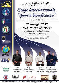 Uno stage di arti marziali con i maestri italiani polacchi e spagnoli in favore di Ado Ferrara