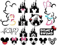 love mickey svg disneyland cut file hand drawn printable iron on digital disney svg dxf pdf silhouette cricut mouse ears girls women teen