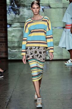 DKNY Spring 2015 Ready-to-Wear - Collection - Gallery - Look 12 - Style.com