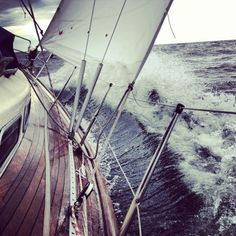 Wind rose to m/s knots) in the evening which built steep waves. Deck got a good wash! Wind Rose, Baltic Sea, House Goals, Finland, Denmark, Lighthouse, Norway, Sweden, Sailing