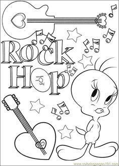 tweety bird coloring pages coloring pages tweety 66 cartoons tweety bird - Tweety Bird Coloring Pages