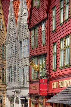 Historical Bergen Norway