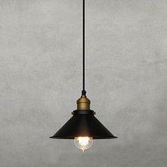 Ретро 60W свет подвеска с металлическим Umbrella Shade в старинном стиле фабрика – RUB p. 3 486,86