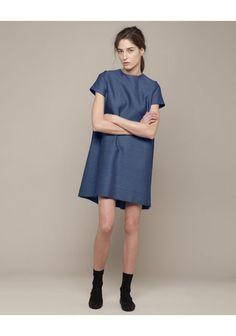 Charles Anastase  Mina Denim Dress