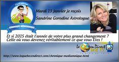 1er émission de l'année avec mon invitée Sandrine Gorodine Astrologue ... http://www.lequebecendirect.com/chronique-mediumnique.html…