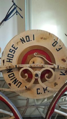 Model of the old fire hose College Point, Hose Reel, Fire Hose, Kitchen Ideas, Old Things, Model, Vintage, Scale Model