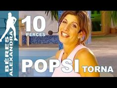 Béres Alexandra torna ||  Hasizom gyakorlatok  || 10 perc - YouTube Wellness Fitness, Health Fitness, Tai Chi, Zumba, Pilates, Exercise, Gym, Workout, Youtube