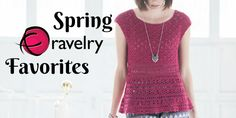 Spring Ravelry Favorites from 3 Years of Crochet