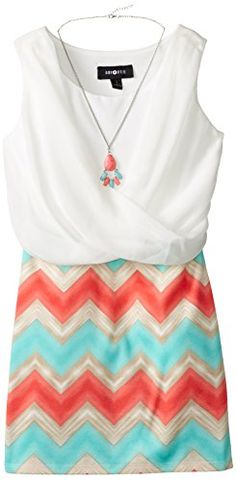 Amy Byer Big Girls' Crossfront Dress with Necklace, Multi, 7 Amy Byer http://www.amazon.com/dp/B002HAUO5W/ref=cm_sw_r_pi_dp_rBNYub1YGNECS