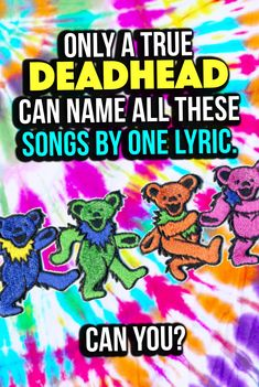 Quiz: Only A True Deadhead Can Name These Grateful Dead Songs By 1 Lyric Grateful Dead Lyrics, Grateful Dead Image, Grateful Dead Shirts, Grateful Dead Dancing Bears, Music Lyrics Art, Lyric Art, Lyric Quotes, Quotes Quotes, Jerry Garcia Birthday