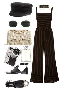 """Untitled #1599"" by veronice-lopez ❤ liked on Polyvore featuring Chanel, Yves Saint Laurent, Isabel Marant, Leica and Gucci"