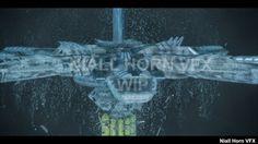 Niall Horn's FX Blog: Underwater Naval Base Destruction FX Work