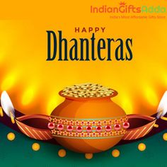 May Goddess Lakshmi shower on you her immense blessings, enriching your lives with prosperity, happiness and joy on this Dhanteras. Same Day Delivery Gifts, Happy Dhanteras, Guru Purnima, Goddess Lakshmi, Gift Store, Blessings, Birthday Gifts, Happiness, Joy