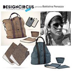 Stanchi delle solite borse? Le creazioni di B ORDER LINE DESIGN, disegnate da Battistina Penazzo, sono realizzate con giacche vintage. Venite a scoprire le sue borse e i suoi porta iPad unisex a DesignCircus il 25 e il 26 ottobre!
