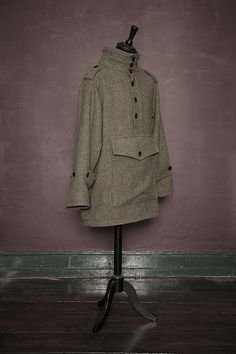 Tweed smock by James Darby, Manchester