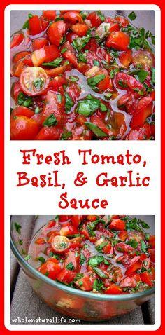 Fresh Tomato, Basil