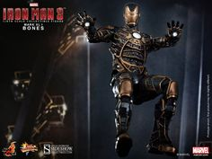 1:6 Iron Man Mark XLI - Bones Figure from Hot Toys