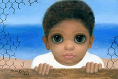 big eyes paintings | Big Eyes, paintings by Margaret Keane