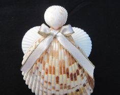 Popular items for seashell angels on Etsy