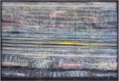 Sterling Ruby SP311, 2014. Spray paint on synthetic canvas