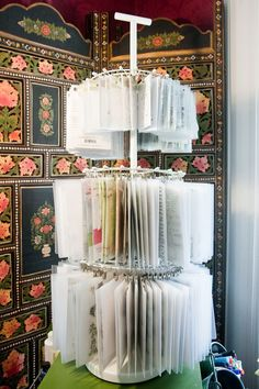 Amazing homemade Clip it up using rotating shoe rack from Bed Bath & Beyond... less than $25 with coupon!
