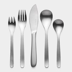 I didn't know a perfect flatware set was needed, but that didn't stop this samurai sword maker from creating it. Yanagi Flatware, Five Piece Set $50